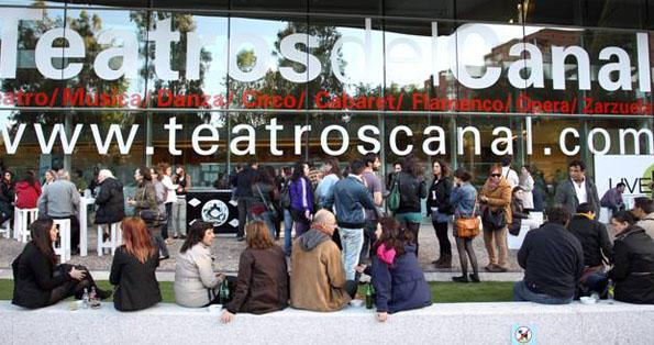 terraza teatros canal madrid