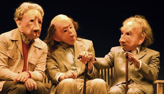infinita familie flöz teatro máscaras