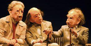 infinita familie flöz teatro con máscaras